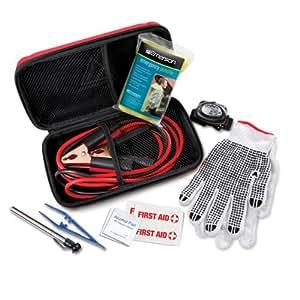 emerson roadside auto emergency kit 10 pieces automotive. Black Bedroom Furniture Sets. Home Design Ideas