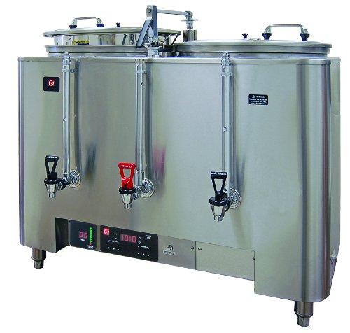 Grindmaster-Cecilware PB-8103E PrecisonBrew Barista Series 2-Liner Coffee Urn, Heat Exchange Style Standard