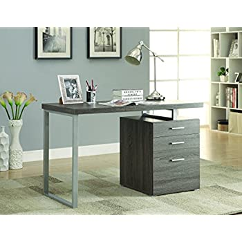 Coaster Home Furnishings Modern Contemporary Office Desk With File Cabinet