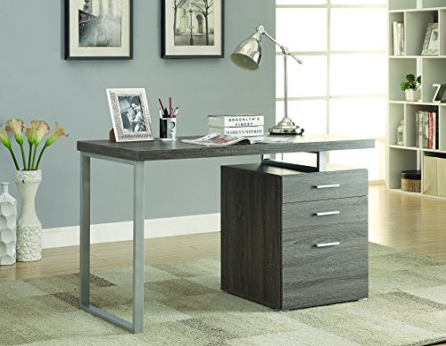 Coaster Furniture Modern Contemporary Office Desk with Fi...
