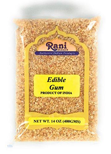 Rani Edible Gum Whole (Arabica Gum) 14oz (400g) Bulk ~ All Natural, Salt-Free | Vegan | No Colors | Gluten Free Ingredients | NON-GMO | Indian - Gum Indian