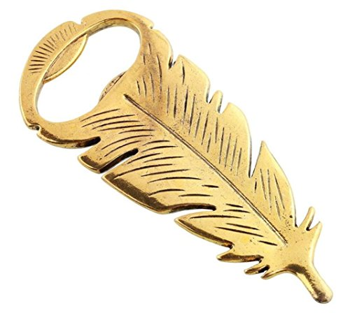 Bottle Opener, Kemilove Retro Vintage Feather Shape Alloy Tool Bar Party Gift by Kemilove (Image #7)