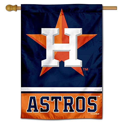 WinCraft Houston Astros Two Sided House - Inch 2 40 Side Banner