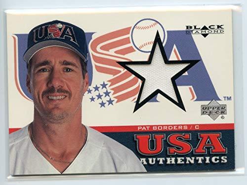 2000 Black Diamond Rookie Edition #153 Pat Borders USA Jersey - NM ()