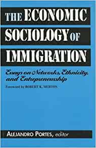 economic entrepreneurship essay ethnicity immigration network sociology Social mobility in the great gatsby - this essay discusses the role of social mobility in the great ethnicity, gender, and economic with immigration.