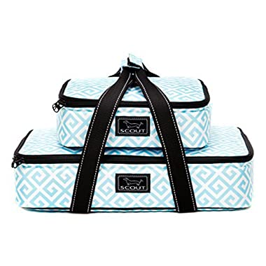 SCOUT Two Plate Casserole Carrier, Blue of a Kind