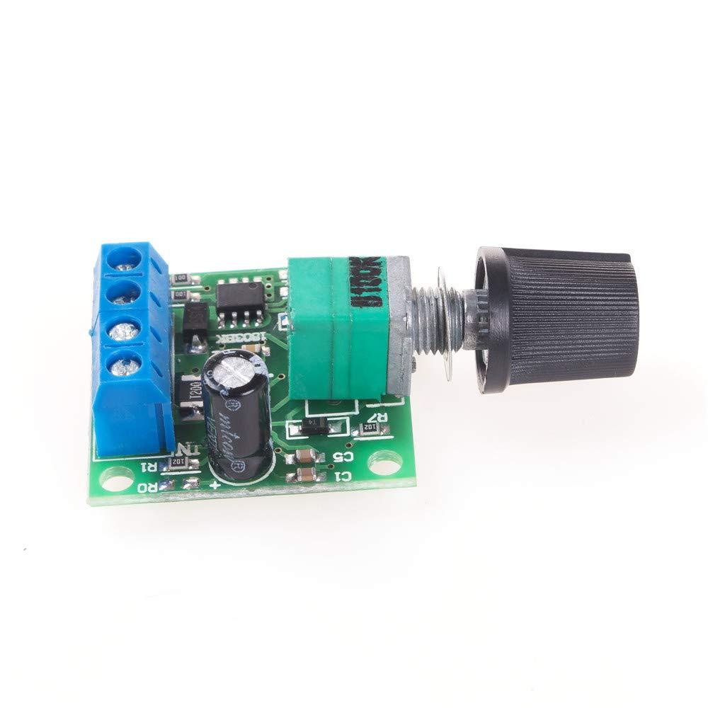 12 V 2 A contr/ôleur de vitesse Angeek PWM Module de variateur de vitesse basse tension DC 1,8 V