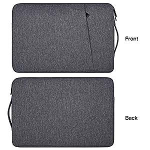 15.6 inch Laptop Case Bag for HP ENVY x360 15.6″, Lenovo Yoga 730 15.6/IdeaPad 330 330s, Acer Chromebook 15/Aspire E 15, MSI GV62, DELL, SAMSUNG, LG, 15.6″ Protective Notebook Briefcase Bag