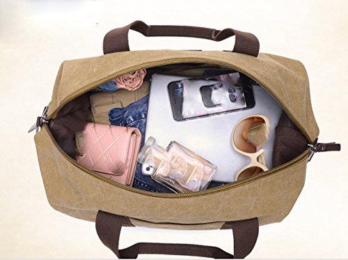 Laidaye Backpack purpose Messenger Brown Multi Travel Leisure Shoulder Bag Business frfpq