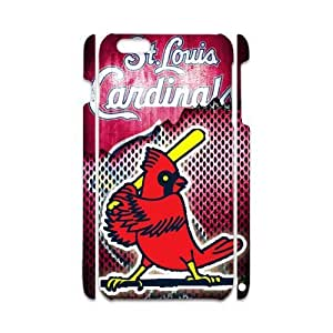 iPhone6 Plus Funny Logo St Louis Cardinals Birds Playing Baseball Case Cover for iPhone6 Plus 5.5 3D (Laser Technology)