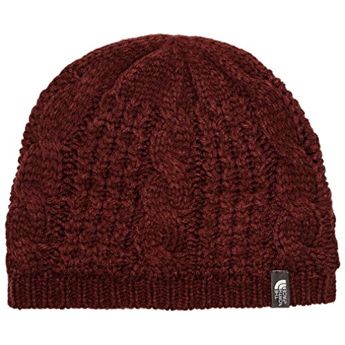 The North Face Women's Cable Minna Beanie Barolo Red OS (North Face Womens Cable)