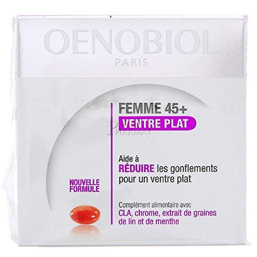 Oenobiol Women 45+ Flat Belly 2 x 60 Gel-Caps