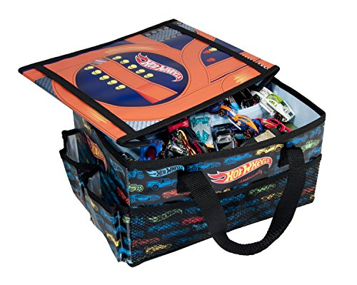Hot Wheels On The Go Storage Organizer Desk