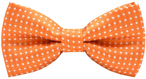 Orange Bowties (Carahere Handmade Little Boy's Bow Ties M012 Orange)