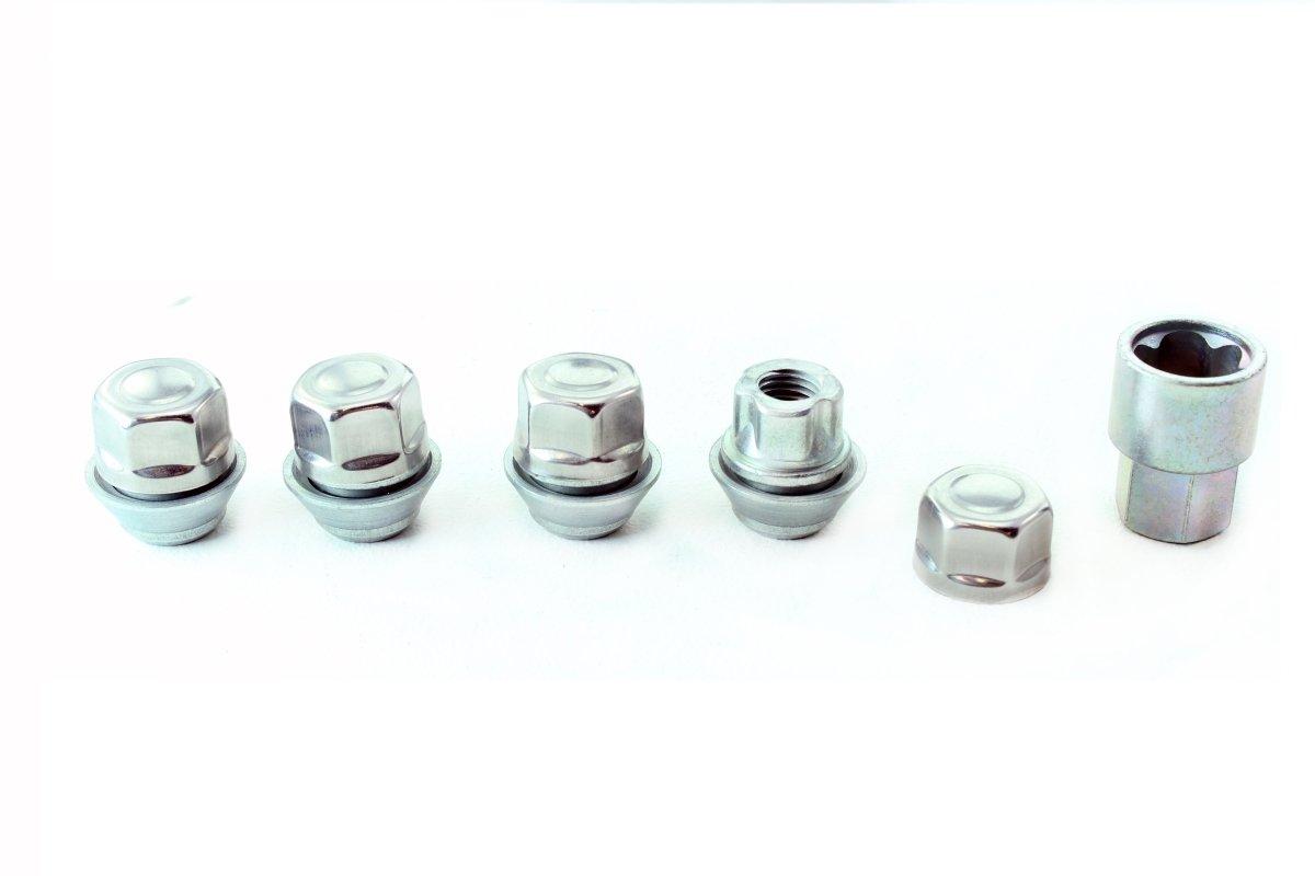 Radsicherungsmuttern M12/x 1,5/Schrauben Diebstahlschutz.