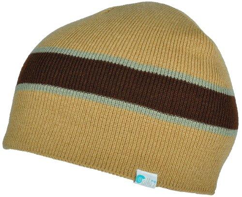 3cfe8947a99 Alki i striped mens womens warm beanie snowboarding winter hats - Khaki -  Buy Online in Oman.