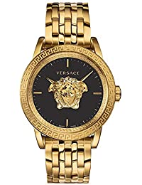Palazzo Empire Limited Edition Men's Swiss Gold Ion-Plated Stainless Steel Bracelet 43mm Watch VERD00819