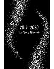 """2019-2020 Two Year Planner: 2019-2020 Monthly Planner, 24 Month Calendar Planner, Agenda Planner and Schedule Organizer, Journal Planner Personal Management Record, Two Year Monthly Pocket Planner 6"""" x 9"""" (2 Year Calendar Logbook Diary Notebook) (Volume 1)"""