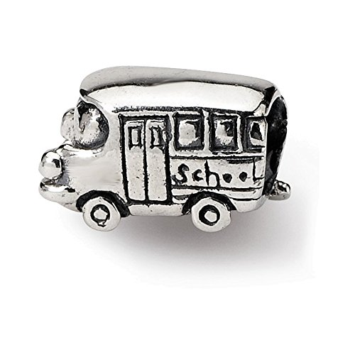 Jewelry Adviser Beads Sterling Silver Reflections Kids Bus Bead