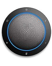 Kaysuda Bluetooth Conference Speakerphone Drahtloses Mikrofon und Lautsprecher für Skype, Zoom, FaceTime