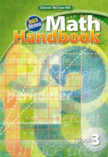 Quick Review Math Handbook, Book 3, Student Edition (MATH APPLIC & CONN CRSE)