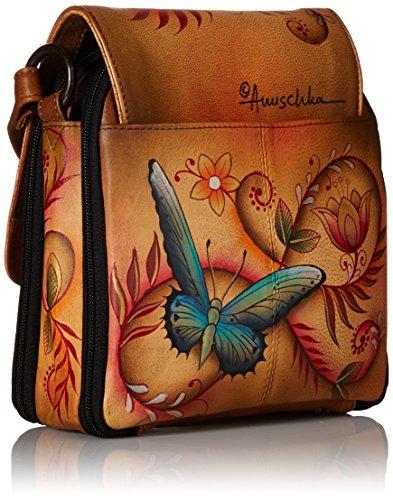 Anuschka, Borsa a tracolla donna Multicolore multicolore