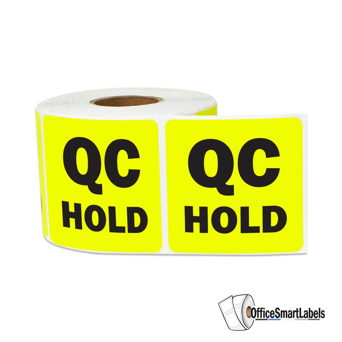 QC Rework Repair Stickers for Quality Control Inventory Warehouse 2 x 2 inch, Purple - 2 Rolls SOJITEK A-OFSSPS764-PUR-002 600 Labels