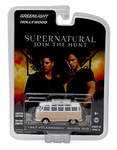 A BUS from the hit television show SUPERNATURAL * GL Hollywood Series 13 * Greenlight Collectibles 1:64 Scale 2016 Die-Cast Vehicle (Volkswagen Truck Bus)