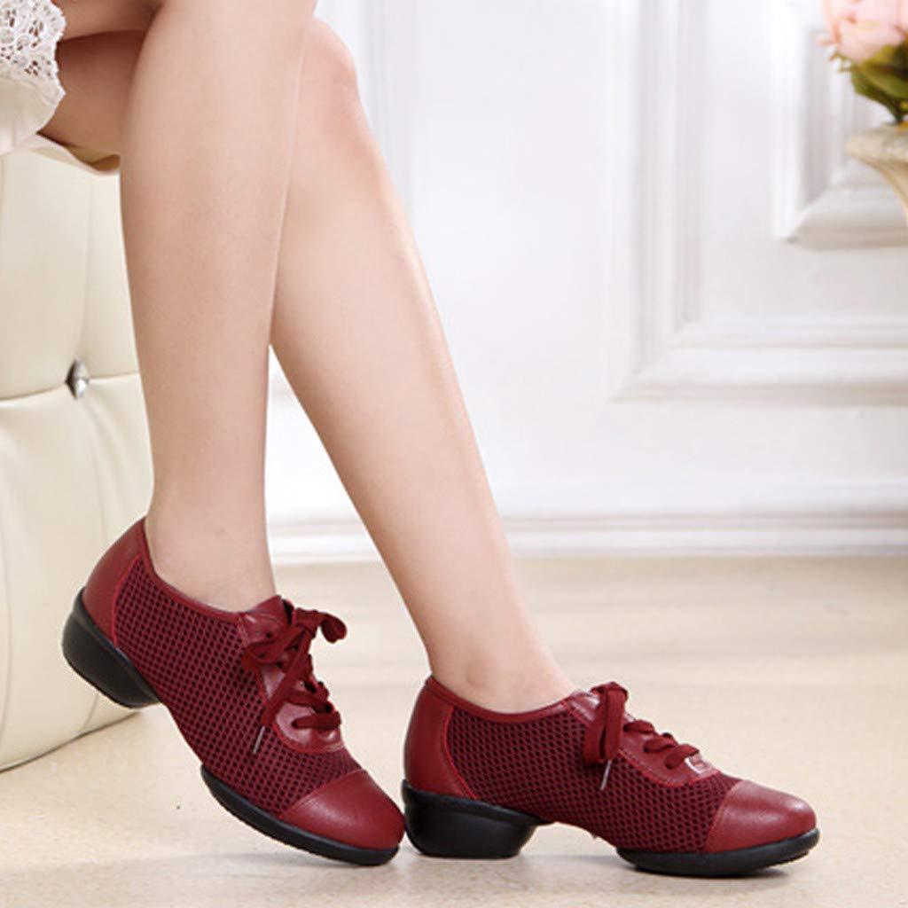 58d0a1ab8c2 Zapatos para Mujer ZARLLE Elegante Zapatos de Danza Baile de Tango Zapatos  de Baile Danza Moderna Zapatos de Jazz Movimiento Zapatos de la Aptitud