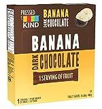 Kind Pressed Banana Dark Chocolate Bar, 12 Count