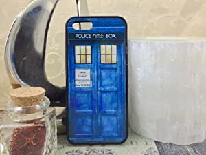 iPhone 5, iPhone 5s Blue Police Box Case. Free Screen Protector!