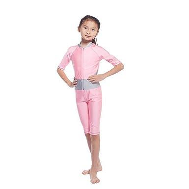 tolle Preise UK-Shop großartiges Aussehen Zhuhaixmy Sommer Muslim Mädchen EIN Stück Malaysia islamisch Badeanzug  Burkini Bathing Suit Mit Halbe Hülse Araber Middle East Bademode Beachwear
