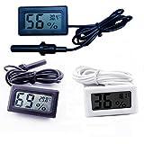 Itian Thermomètre Hygromètre Digital pour Reptiles Aquarium Terrarium