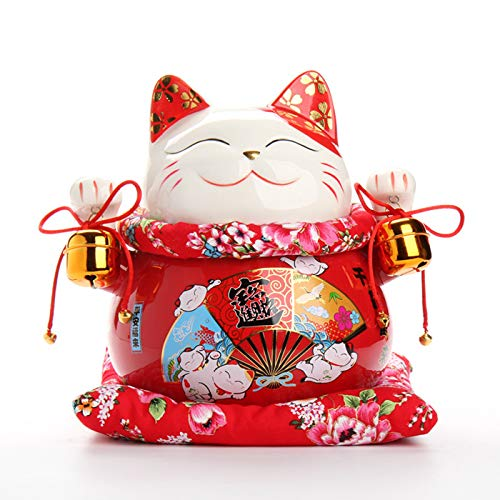 Statues & Sculptures - Inch Ceramic Maneki Neko Ornament for sale  Delivered anywhere in Canada