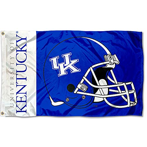 College Flags and Banners Co. Kentucky Wildcats Football Helmet Flag