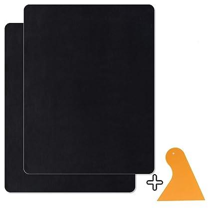 Homean Kit De Parche De Piel 2 PcsParches Autoadhesivos De Reparación De Cuero para Asientos De Sofá De Automóvil 8 × 11 Pulgadas Parches De Cuero ...
