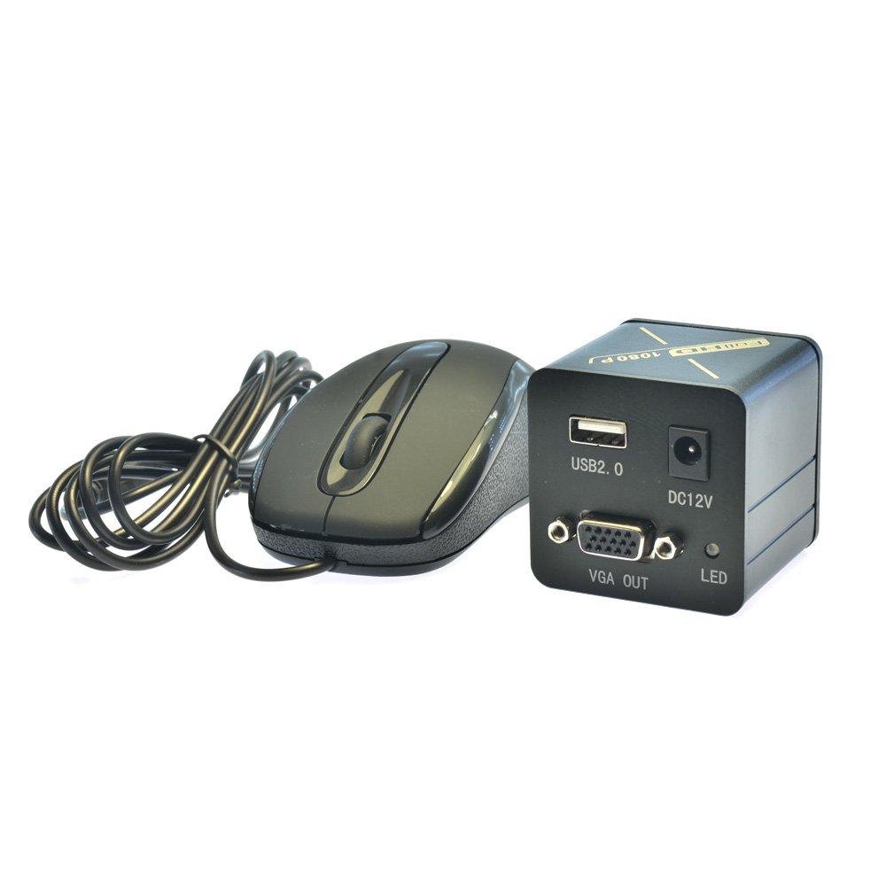 Aihome Full HD VGA Microscope Camera 1080P Microscope Industrial Camera C Mount High Speed CMOS Microscopes Camera