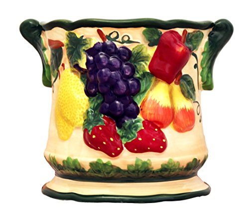 Tuscany Hand Painted Collection 3-D Embossed Mix Fruit by ACK (#65 ELECTRIC TART BURNER)