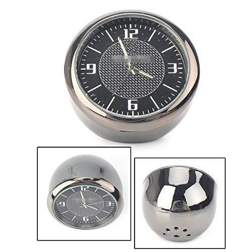 GZYF Car Onboard Small Round Clock Table Round Classic Analog Quartz Clock for BMW ()