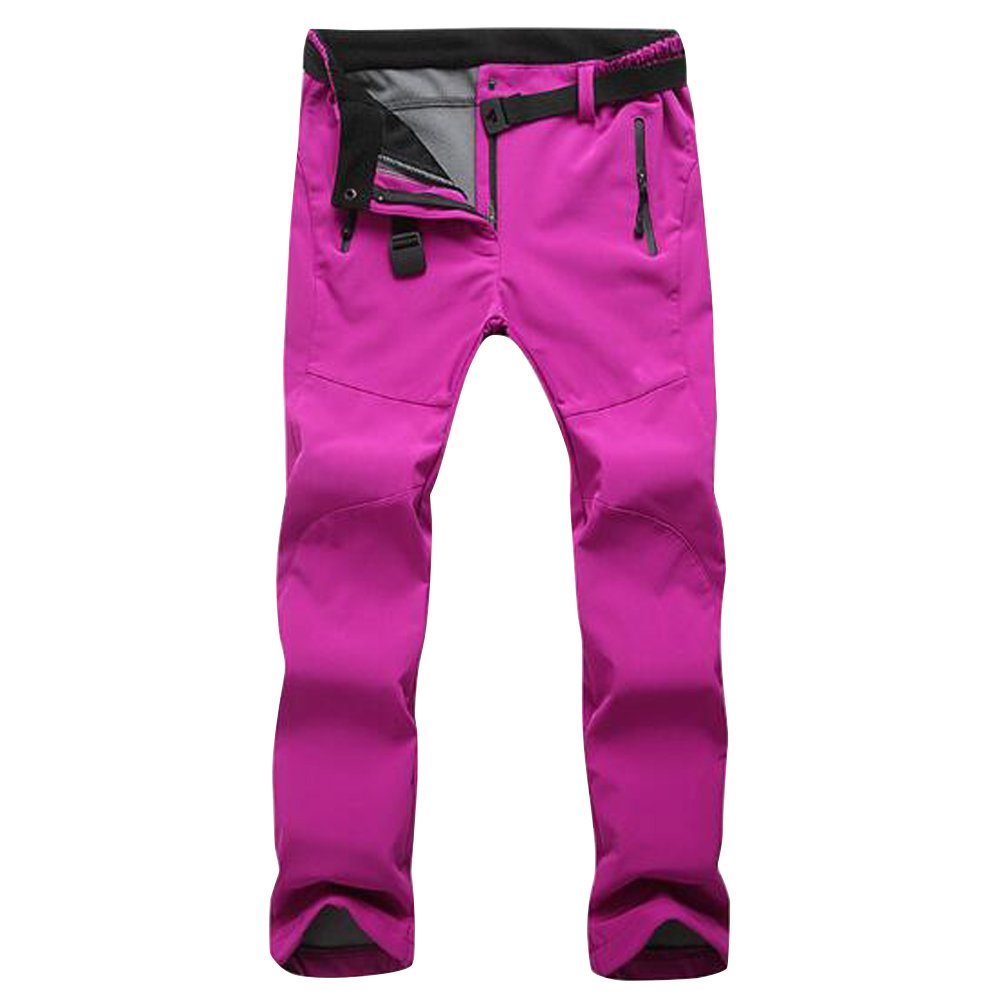 Women's Waterproof Warm Hiking Pants Ski Pants Quick Dry Outdoor Climbing Trousers Breathable Lightweight Houtby