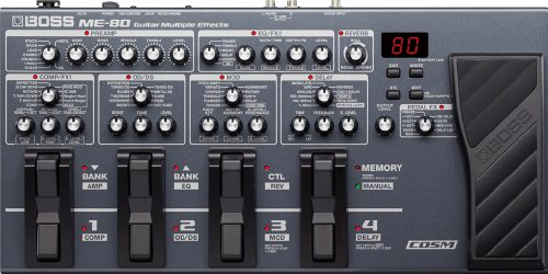 Boss ME-80 Multi-Effects Pedal by BOSS