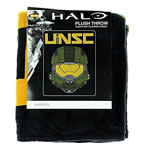 Halo UNSC Helmet Throw Blanket