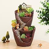 Cheap Resin Flower Pot Succulent Plants Pot Garden Bonsai Planter Micro Landscape flowerpot Garden Decoration Planter