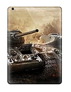Hot New T 34 & T 34 85 In World Of Tanks Tpu Case Cover, Anti-scratch Phone Case For Ipad Air 1327048K49271223