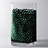 Efavormart 14g Big Round Water Beads Jelly Vase Filler Balls for Wedding Party Event Table Centerpieces Decoration Supply - Black