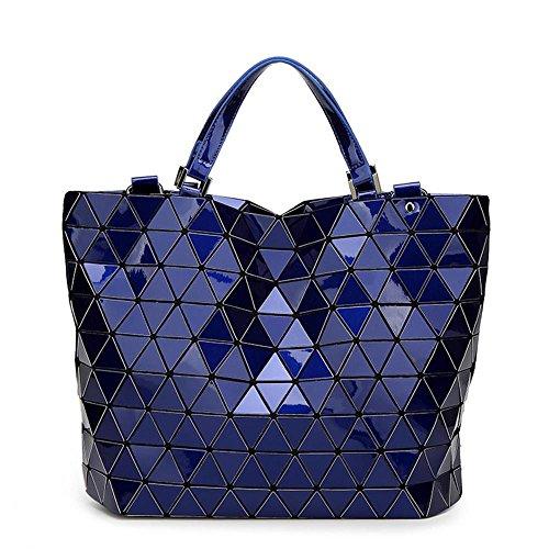 Meaeo Ladies Rame Signore Bao Lustrini Insacca Blue Bag Borse Womens Big Femminile Tote Grande AqAHxYpr