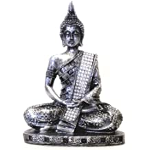 """Sculptures and Figurines - 8"""" Thai Buddha Meditating Peace Harmony Statue - Collectors Items"""