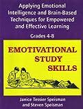 Emotivational Study Skills, Speisman, Janice Tessier and Speisman, Steven, 0890799946