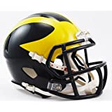 MICHIGAN WOLVERINES NCAA Riddell Revolution SPEED Mini Football Helmet