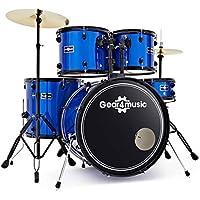 Batería de Principiante Tamaño Completo BDK-1 de Gear4music Azul
